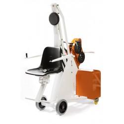 Chariot mobile de mise à l'eau PMR