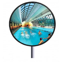 Miroir de surveillance en inox - Ø 60 cm