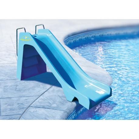 Toboggan piscine toboggan bassin petit toboggan polyester for Tobogan piscine