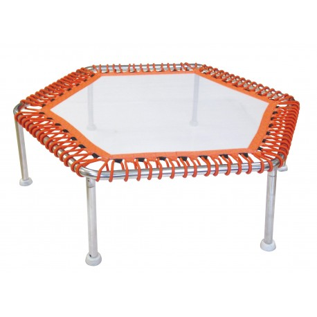 Trampoline aquatique - Hexagonal