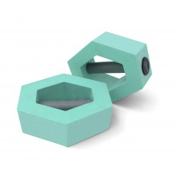 Haltères hexagones- La paire