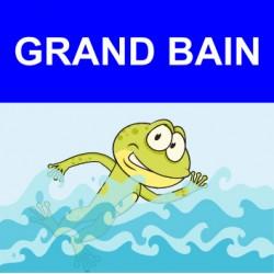 """Panneau - """"Grand Bain"""""""