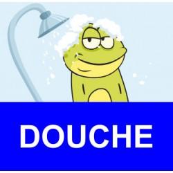 """Panneau - """" Douche """""""