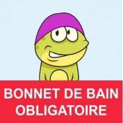 """Panneau - """"Bonnet Obligatoire """""""