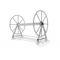 Enrouleur inox 304 sur chariot