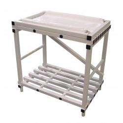 Table à langer PVC