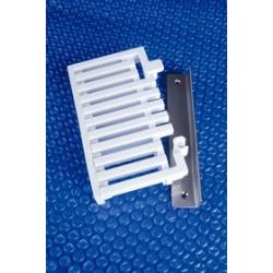 Kit de terminaison pour grille de goulotte