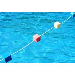 Ligne de nage flotteur tendeur comp tition tendeur - Piscine ligne de nage ...