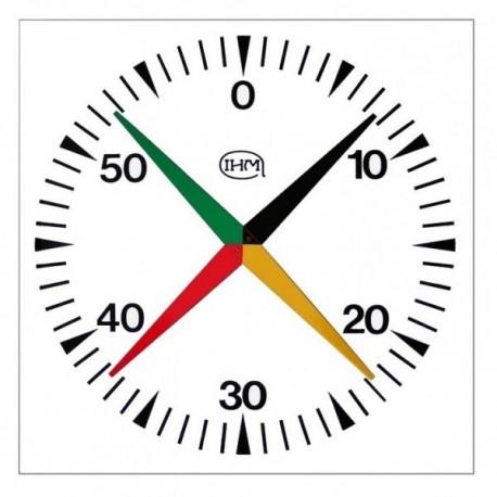 Compte-secondes cruciforme 1 mètre