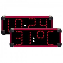 Horloge de piscine à diodes