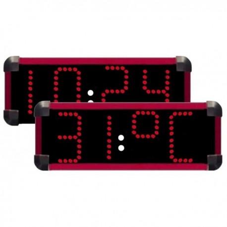 Horloge piscine horloge etanche horlage bassin horloge diode for Thermometre exterieur geant