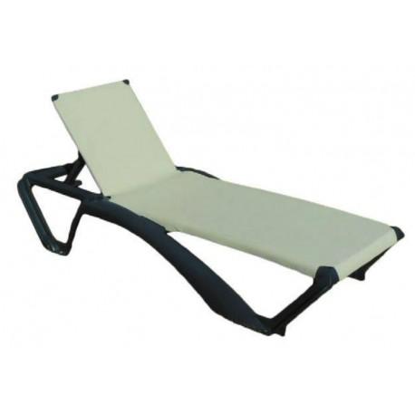 Bain de soleil marina fauteuil chaise longue marina for Bain de soleil marina bleu
