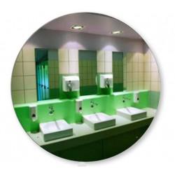 Miroir incassable pour piscine pruvost sport piscine for Miroir inox incassable