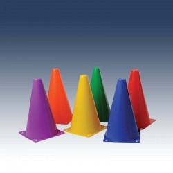 Cones de délimitation - lot de 6