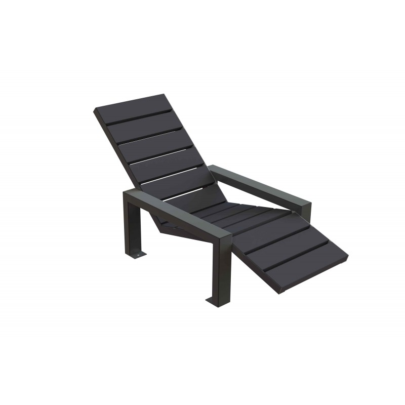 bain de soleil chaise longue plastique recycl. Black Bedroom Furniture Sets. Home Design Ideas