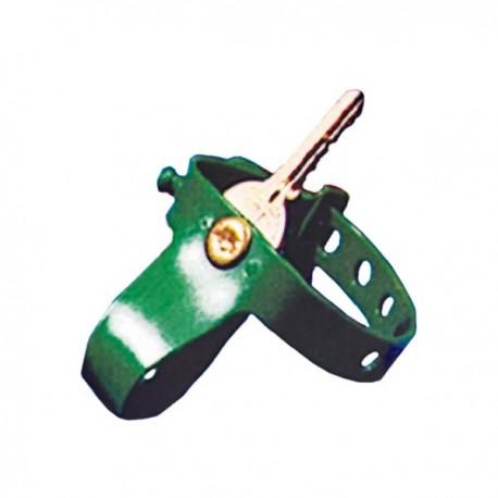 Bracelet plastique pour clé - Numéroté