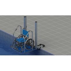 Plate-forme de mise à l'eau PMR