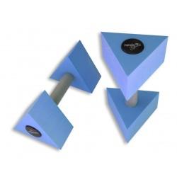 Haltères triangulaires - La paire