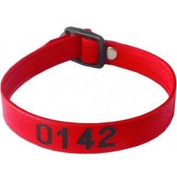 Bracelet PVC armé - Numéroté