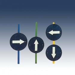Panneaux d'orientation - lot de 4
